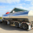 Stock Photo: Oil Tanker Truck