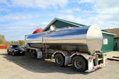 Oil Tanker Truck — Stock Photo