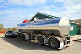 Oil Tanker Truck — Stock Photo