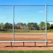 Stock Photo: SuburbBaseball Diamond