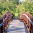 Pedestrian Bridge — Stock Photo