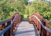 Gångbron — Stockfoto