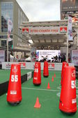 Grey Cup Stage — Stock Photo