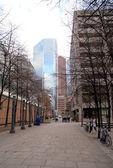 Центр Торонто небоскребы — Стоковое фото