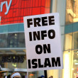 Pro Islam Sign — Stock Photo #18316573