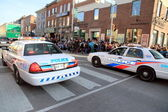 Toronto Police Cars — Stock Photo