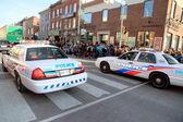 Toronto Police Cars — Stock Photo