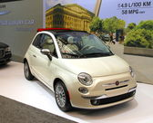 New Fiat 500 — Stock Photo