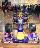 Infiniti Red Bull Formula One Racing Car — Stock Photo