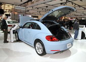 New Volkswagen Beetle — Foto Stock