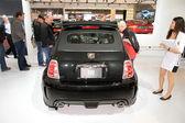 Fiat 500 abarth — Foto Stock