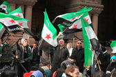 Syrian Demonstrators — Stock Photo