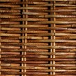 Stock Photo: Surface of woven twigs.