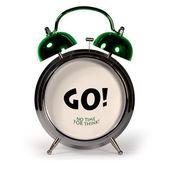 Сonceptual alarm clock — Stock Photo