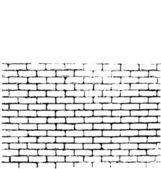 Brick Wall Of Negative Space Vector — Stock Vector