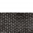 Brick Wall Vector — Stock Vector
