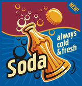 Soda — Stock Vector