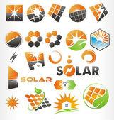 Solar — Stock Vector