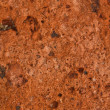 Macro texture of red stone — Stock Photo