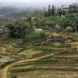 Farming village in highlands of Vietnam. — Stock Photo #12827285