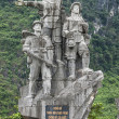 Vietnam: War memorial to honor female support troops. — Foto de Stock