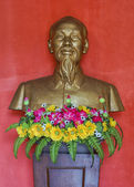 Vietnam Quang Binh Province: Bust of Ho Chi Minh. — Foto Stock