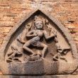 Durga goddess on front at Po N'gar Cham Sanctuary. — Stock Photo