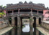 The Japanese bridge and temple in Hoi An, Vietnam. — Stock Photo