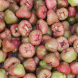Постер, плакат: Heap of rose apples as seen on the market in Phan Thiet Vietnam