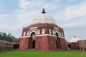 Close up of Ghiyathu'd-Din tomb with white dome in New Delhi. — Stock Photo