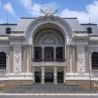Frontal view on Saigon OperHouse in Ho Chi Ming City. — Stock Photo #29617597