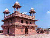 The Hall of Private Audience at Fatehpur Sikri palace and fort n — Stockfoto