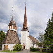 The historic church of Tornio in Finnish Lapland. — Stock Photo