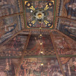 Paintings on ceiling in Tornio Church, Finnish Lapland. — Stock Photo #35797261