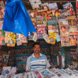 Постер, плакат: BANGALORE INDIA CIRCA OCTOBER 2013: Magazine and newspaper st