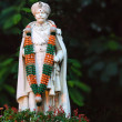 Stock Photo: Statue of ChamRajWadiyar 10th in Bangalore.