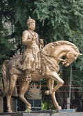 Statue von Sri Basavanna in Bengaluru (Porträt). — Stockfoto