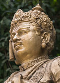 Head of Sri Basavanna on Bengaluru Statue. — Stock Photo