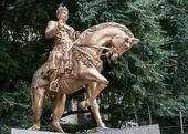 Статуя Шри basavanna в Бенгалуру. — Стоковое фото