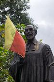 Statue of Reverend Dr. Ferdinand Kittel in Bangalore. — Stock Photo