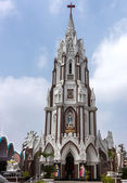 Saint Mary's Basilica in Bangalore. — Stock Photo