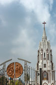 Entrance gate to the St. Mary's Basilica in Bangalore. — Stock Photo