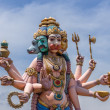Pancha Muga Anjaneyar statue in Vellore. — Stock Photo