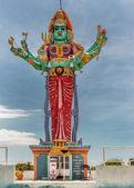Shrine and statue of Goddess Kali. — Stock Photo
