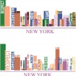 Royalty-Free Stock Vector Image: New york city