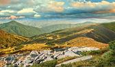 Sunset in Carpathians — Stock Photo