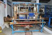 Ancient loom weavers — Stock Photo
