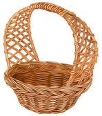 Wicker basket — Stock Vector