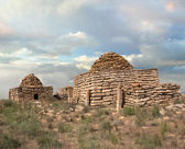 Ruins of an ancient mausoleum — Stock Photo