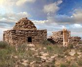 Ruins of an Islamic cemetery — Stock Photo